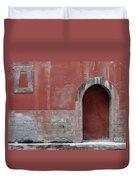 Antique Facade Duvet Cover