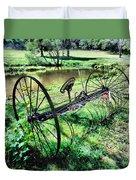 Antique Farm Equipment 3 Duvet Cover
