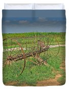 Antique Farm Rake Duvet Cover