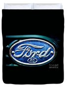 Antique Ford Badge Duvet Cover
