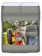 Antique Ford Tractor Duvet Cover