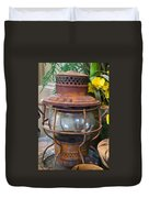 Antique Lantern Duvet Cover