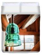 Antique Light Fixture 3 Duvet Cover