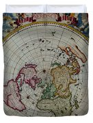 Antique Map Vintage Very Stylish Piece Duvet Cover