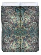 Antique Pastels Duvet Cover