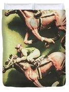 Antique Race Duvet Cover