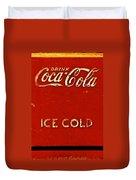 Antique Soda Cooler 6 Duvet Cover