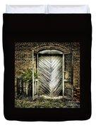 Antique Store Door Duvet Cover