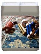 Antique Tapestry Repair  Duvet Cover