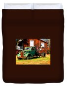 Antique Tow Truck Duvet Cover