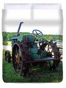 Antique Tractor 2 Duvet Cover