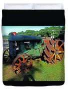 Antique Tractor 3 Duvet Cover