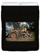 Antique Tractor Duvet Cover