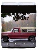 Antique Truck Duvet Cover