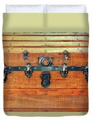 Antique Trunk Duvet Cover