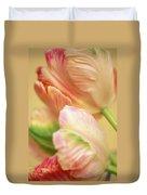 Antique Tulips Duvet Cover