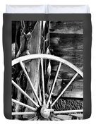Antique Wagon Wheel Duvet Cover