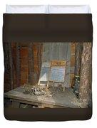 Antique Wash Boards Duvet Cover