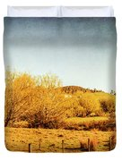 Antique Weathered Countryside Duvet Cover