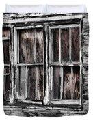 Antique Windows Duvet Cover