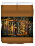 Antique Windows Duvet Cover