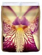 Antiqued Iris Duvet Cover