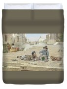 Antonio Ermolao Paoletti The Melon Sellers Duvet Cover