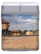 Antonito Colorado Tank And Station Duvet Cover