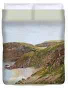 Antsey's Cove South Devon Duvet Cover