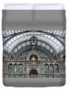 Antwerp Train Duvet Cover