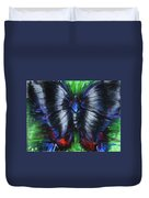 Anxious Butterfly Duvet Cover
