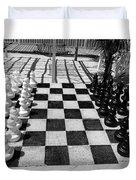 Anyone For Chess Duvet Cover