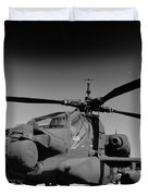 Apache Helicopter Duvet Cover