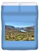 Apache Trail - Salt River - Arizona Duvet Cover