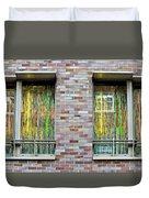 Apartment Window Duvet Cover