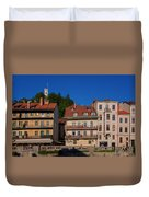 Apartments By The Ljubljanica River In Ljubljana Duvet Cover