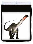 Apatosaurus Profile Duvet Cover