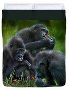 Ape Moods Duvet Cover