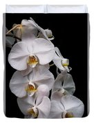 Aphrodite - White Orchid Duvet Cover