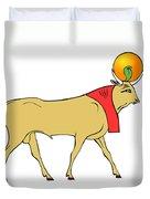 Apis - Egyptian Sacred Bull Duvet Cover