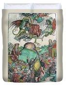 Apocalypse, Nuremberg Chronicle, 1493 Duvet Cover