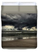 Apocalyptic Clouds Over The Atlantic Duvet Cover