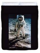 Apollo 11: Buzz Aldrin Duvet Cover