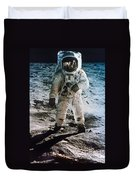 Apollo 11 Buzz Aldrin Duvet Cover