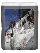 Apostle Islands Cliffs Duvet Cover
