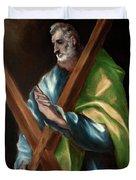 Apostle Saint Andrew Duvet Cover