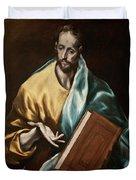 Apostle Saint James The Less Duvet Cover