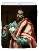 Apostle Saint Paul Duvet Cover