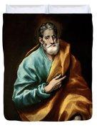 Apostle Saint Peter Duvet Cover