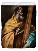 Apostle Saint Philip Duvet Cover